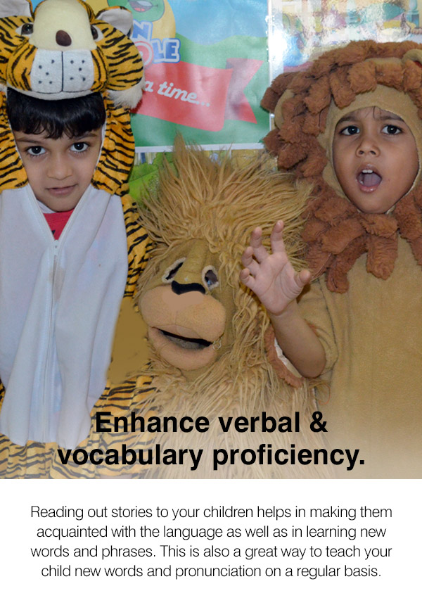 Kids After School Activity Class in CBD - Enhance verbal and vocabulary proficiency.