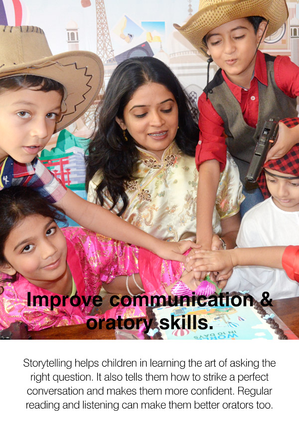 Story-Telling Classes in Belapur CBD and Kharghar - Improve communication and oratory skills.